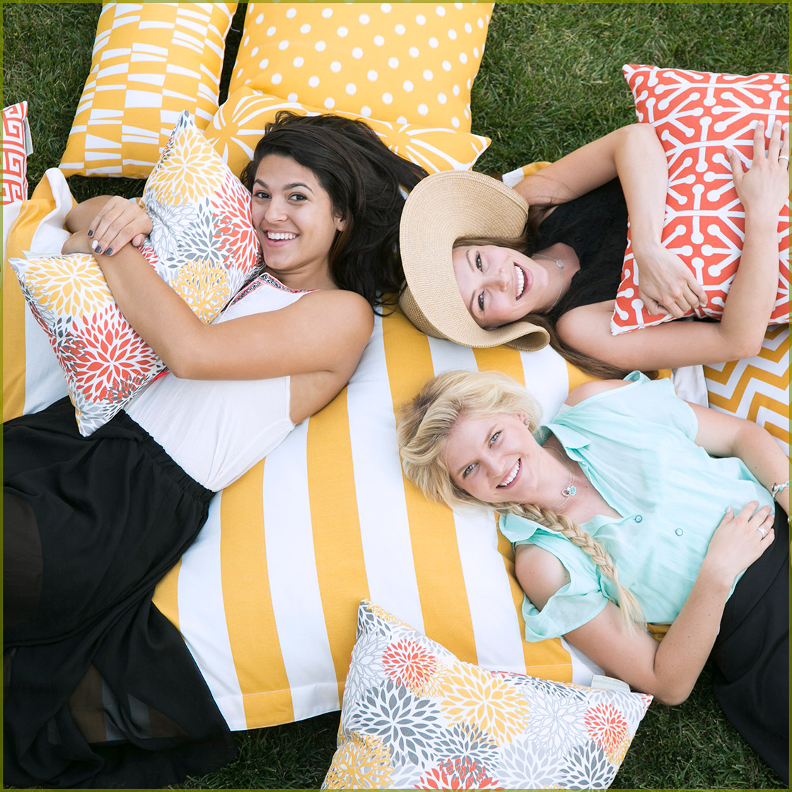 Majestic Home Goods Bean Bag Chairs Ottomans Pillows